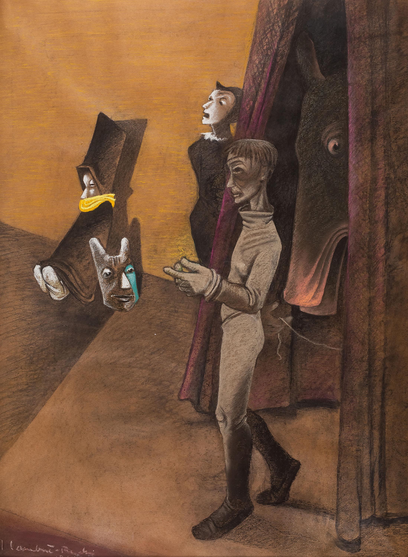 Scena teatralna, 1944 r.