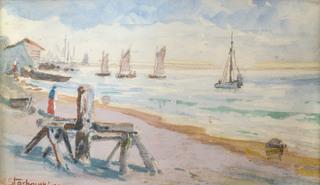 Przy brzegu, 1929