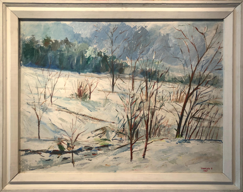 Zimowy pejzaż, 1985