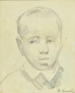 Głowa małego chłopca, ok. 1910