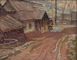"""""""Padający śnieg"""", 1937"""