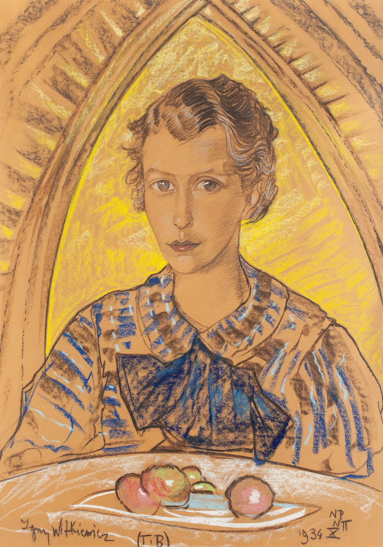 Portret Joanny Czaplickiej-Rzepka, 1934