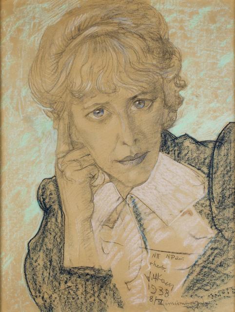 Portret Julii Sokołowskiej , 1938