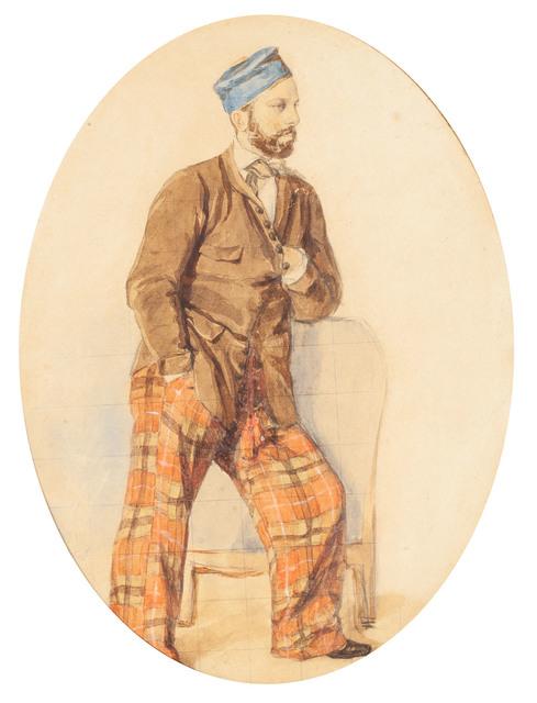 Portret Zygmunta Rodakowskiego, około1841