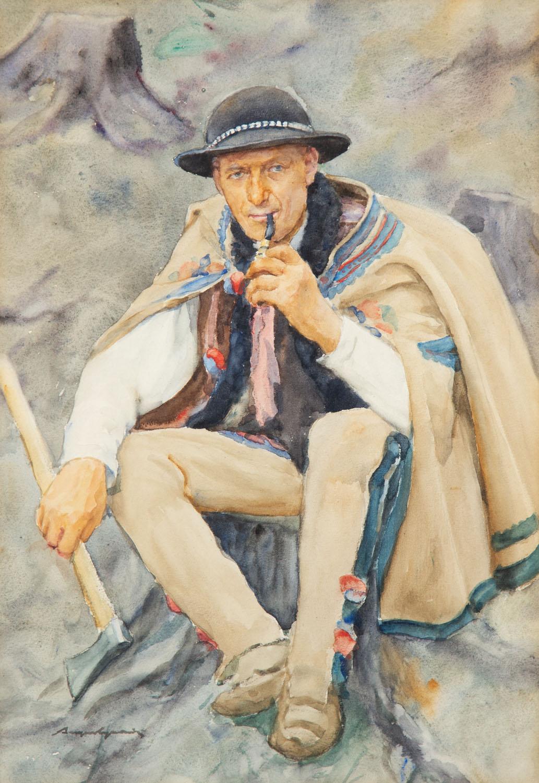 Portret górala, po 1909