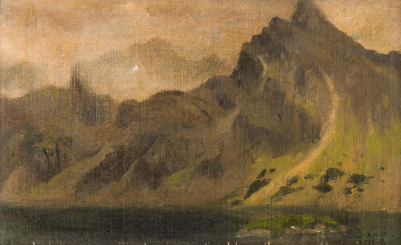 Widok na Kozi Wierch, 1908