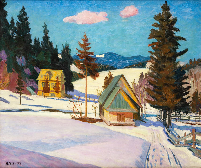 Zima, lata 30. XX w.