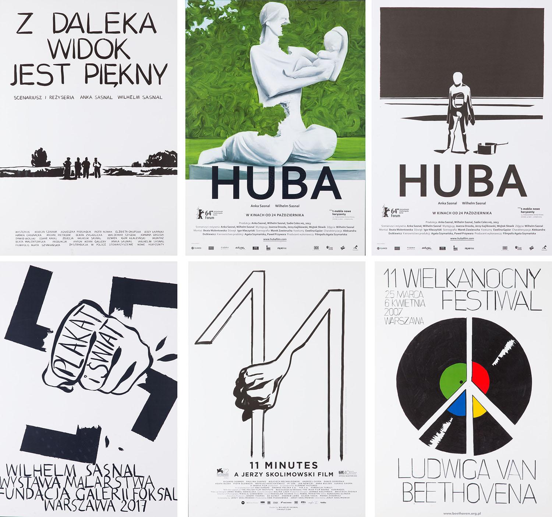 Zestaw 6 plakatów, 2013