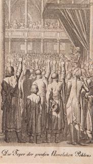 Święto wielkiej polskiej rewolucji (Die Feyer der großen Revolution Pohlens), 1792
