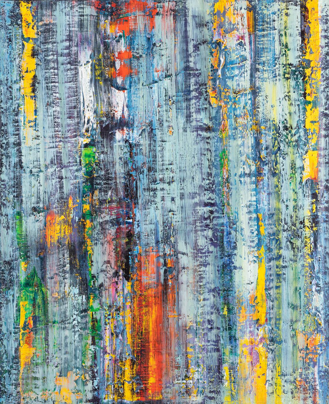 Abstrakcja No.23, 2015 z cyklu: Australia