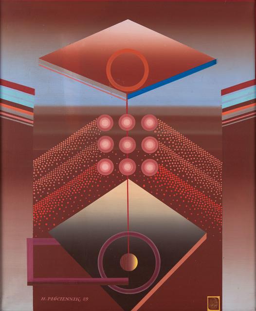 Kompozycja abstrakcyjna, 1989