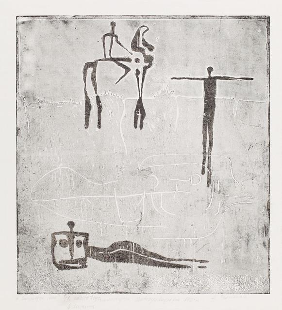 """""""Kompozycja szara"""", 1965"""