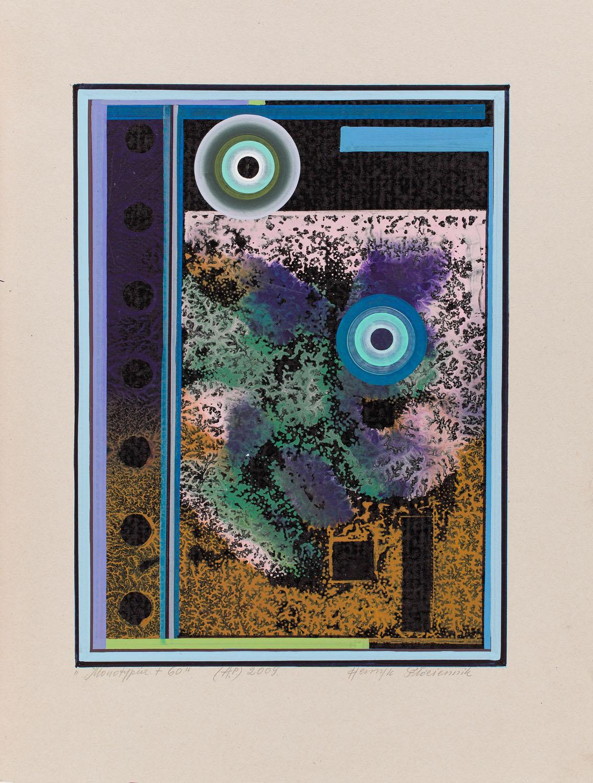 """""""Monotypia + 60"""", 2009"""
