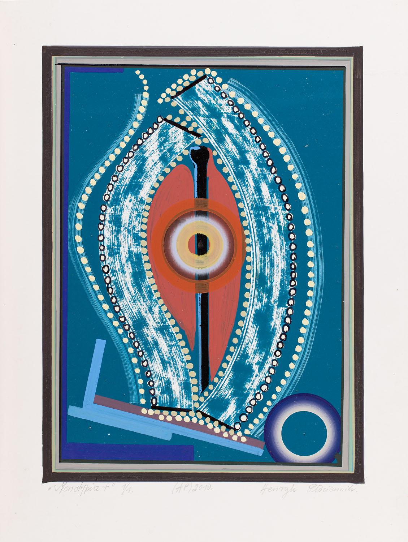 """""""Monotypia +"""", 2010"""