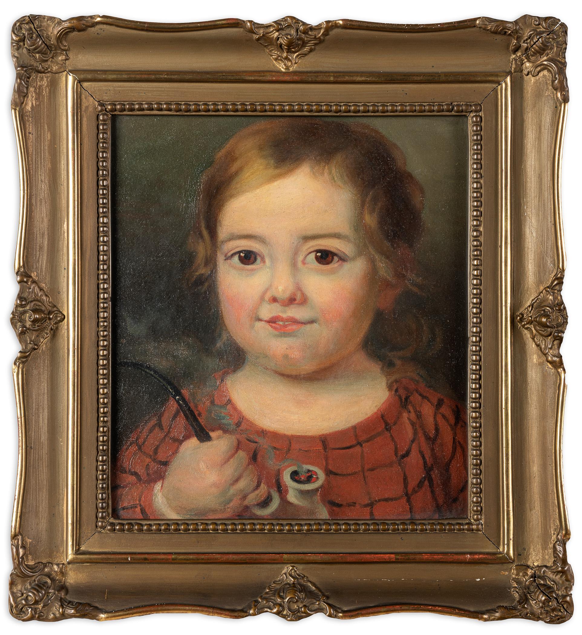 Dziewczynka z fajką, 1918