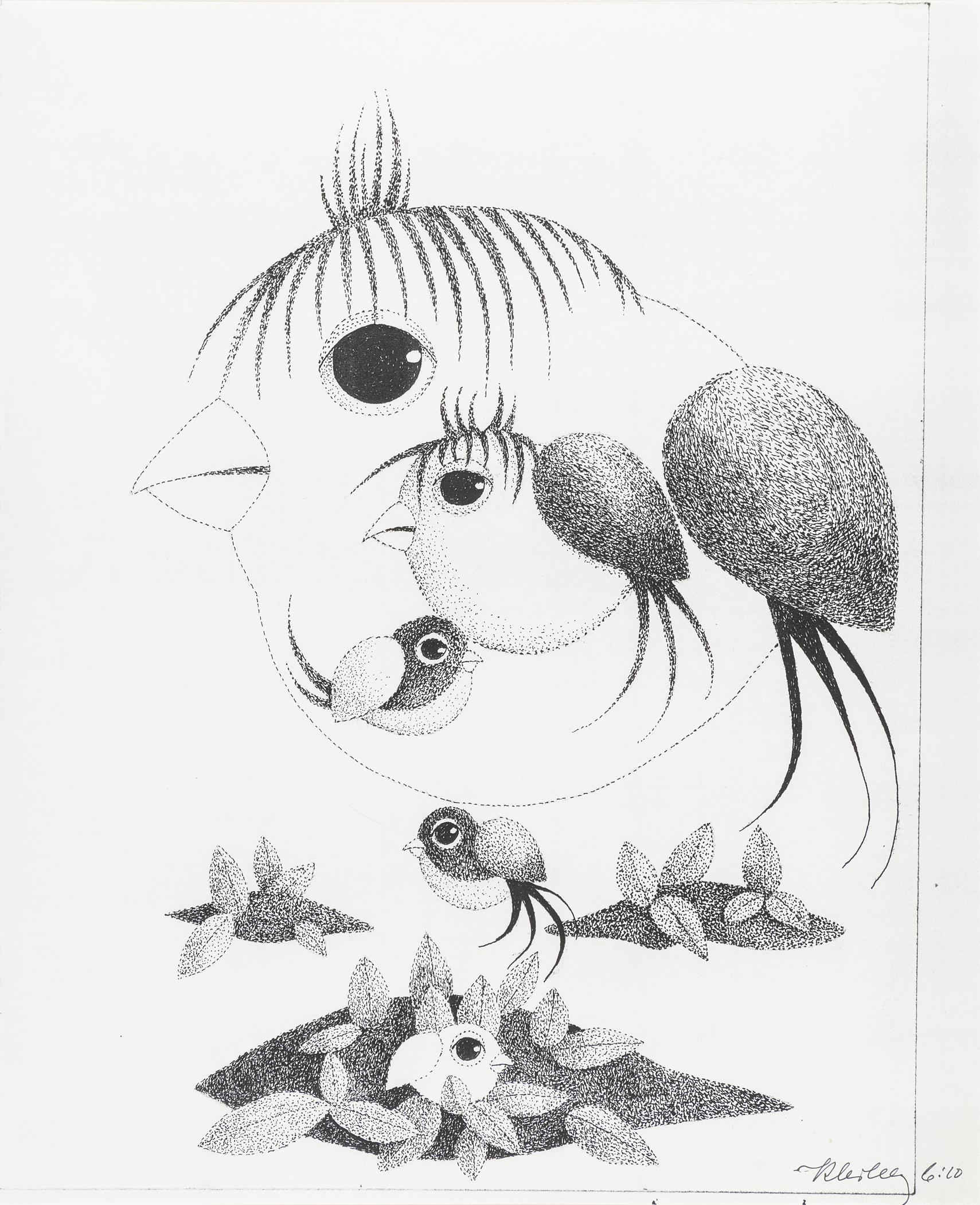 Ptaszki, lata 80. XX wieku