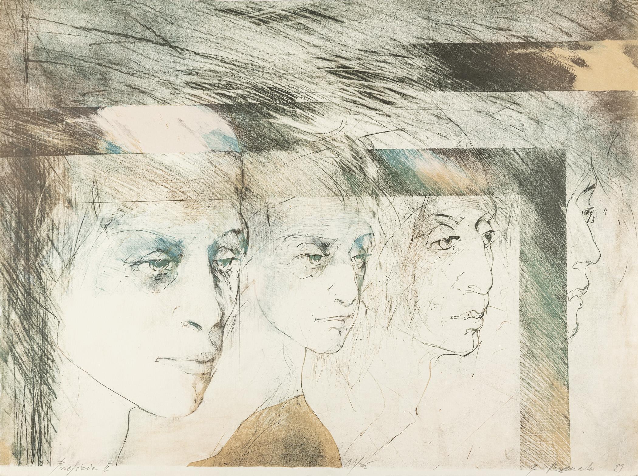 Przejście II, 1989