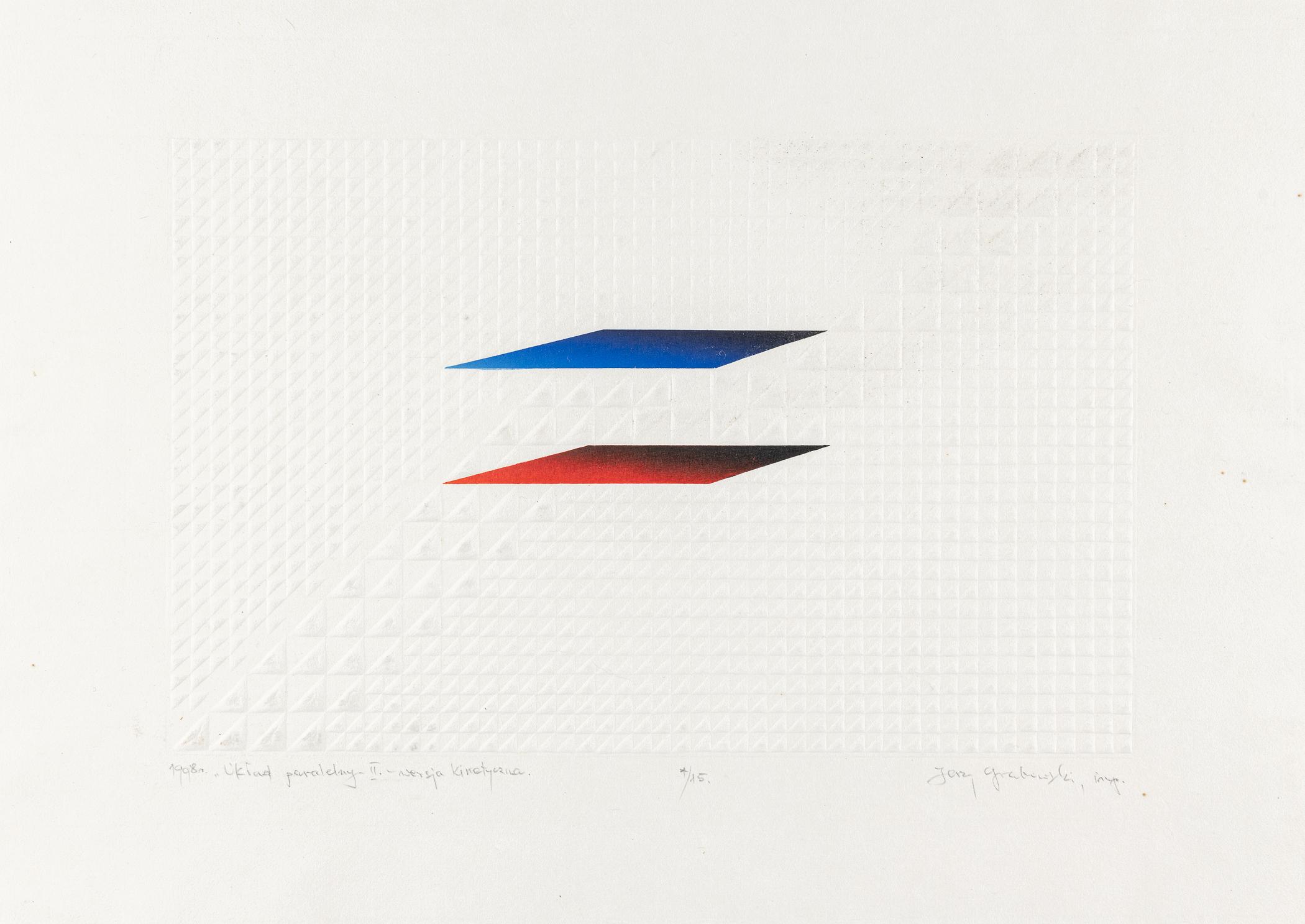 Układ paralelny II – wersja kinetyczna, 1988