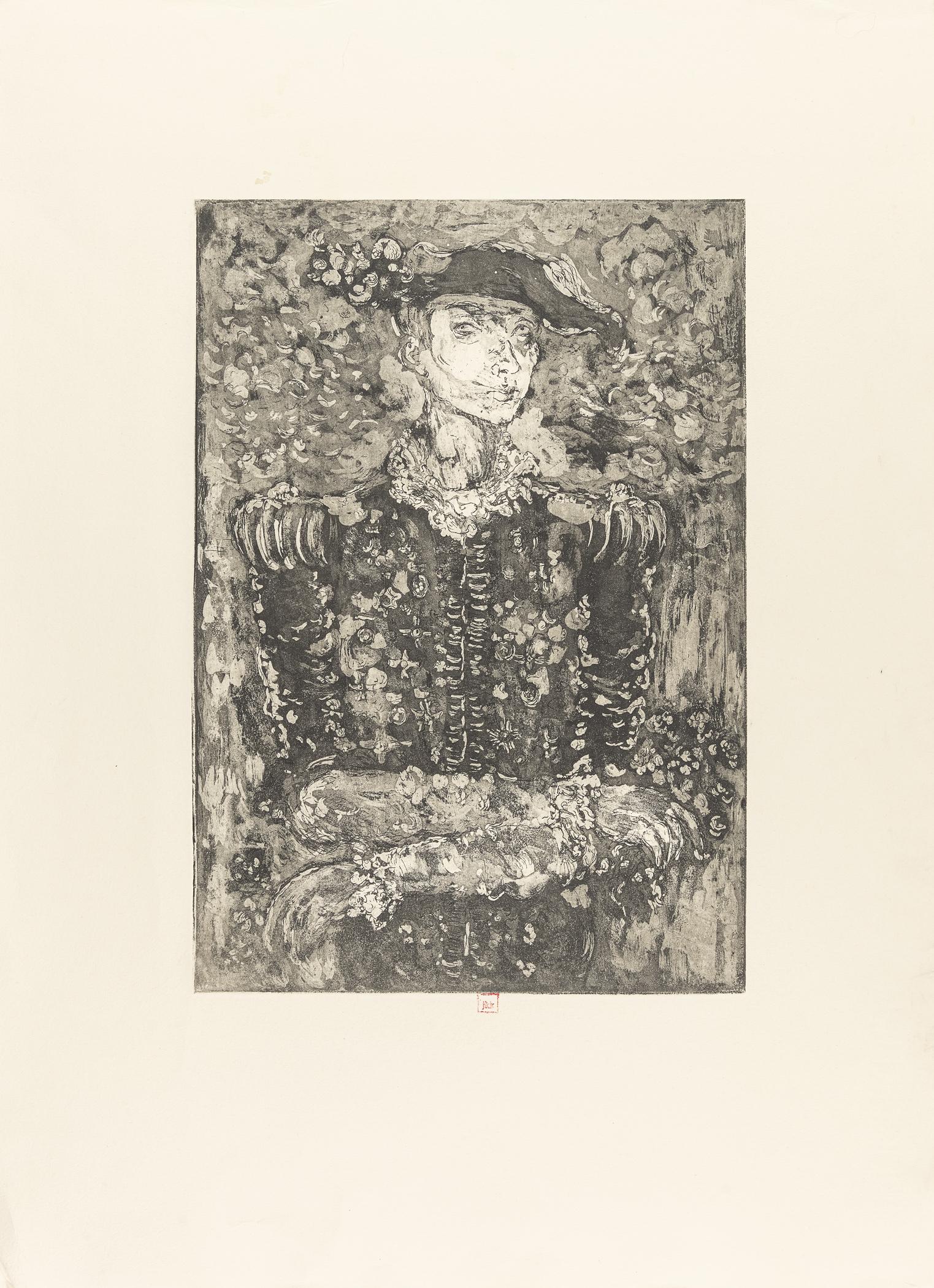 Autoportret z orderami, 1967 (?)