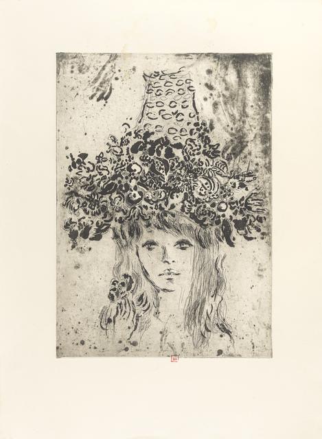 Portret Bardotki w kapeluszu