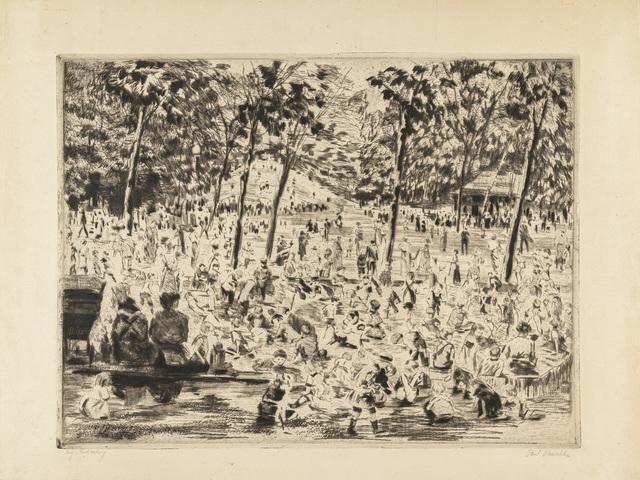 Miejskie kąpielisko, pocz. XX w.