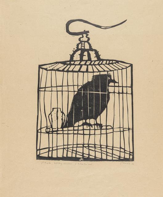 Ptak, który mówi z Nankinu, 1956