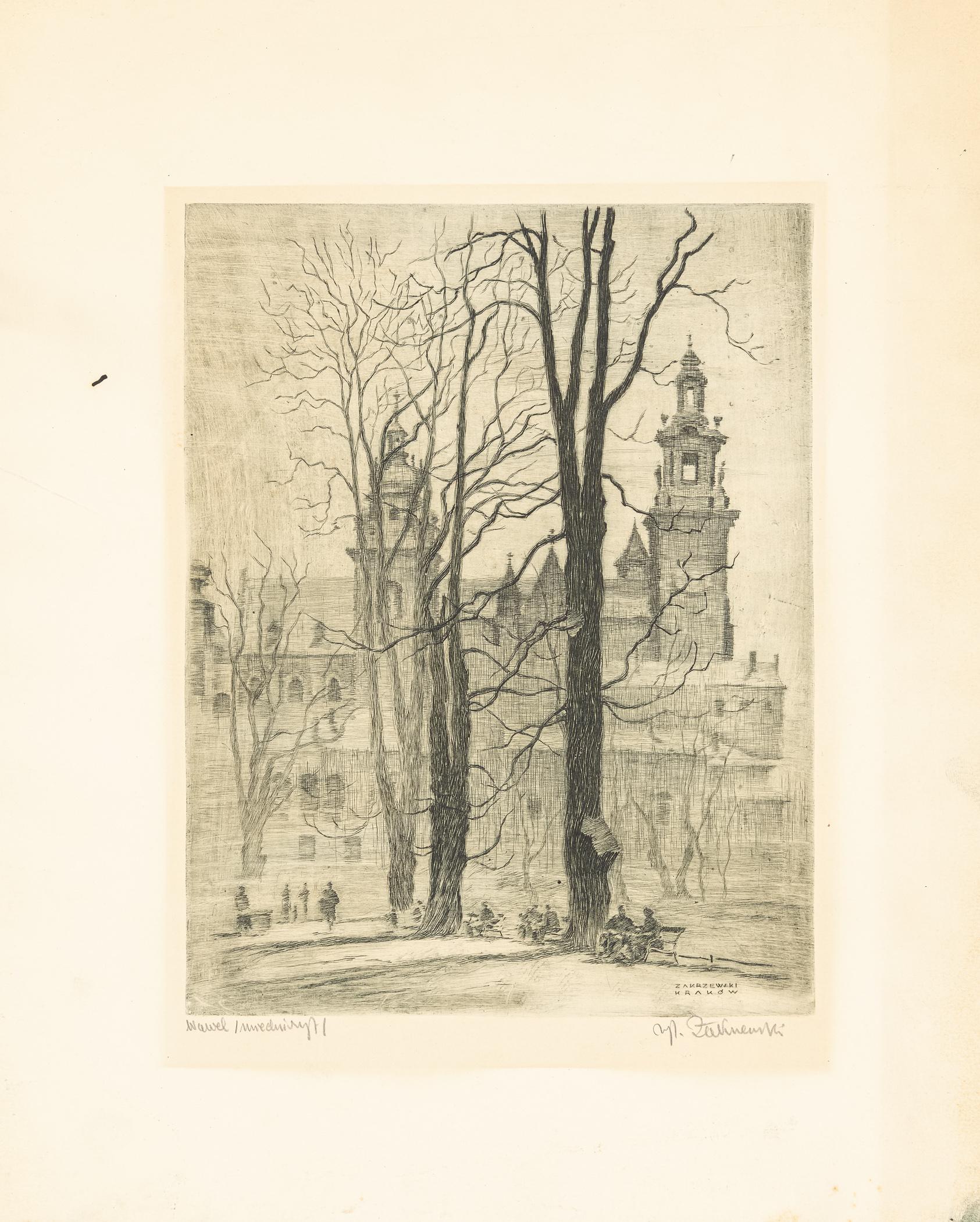 Wawel, lata 30. XX w.