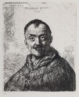 GŁOWA ORIENTALNA, 1635, odbitka XIX w.