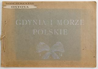 GDYNIA I MORZE POLSKIE, 1930