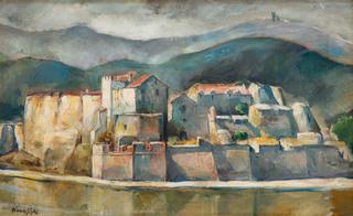 Widok z Collioure