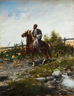 Jeździec wschodni, 1885