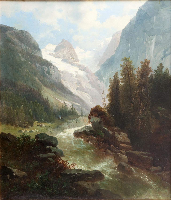 Dziki strumień w Dachsteinie