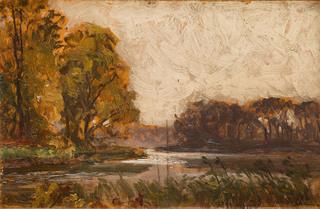 Pejzaż z okolic Wojnowa, 1921