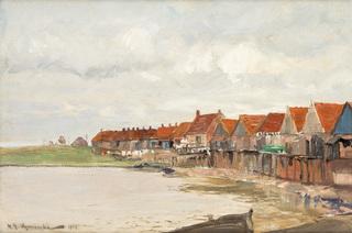Wieś rybacka, 1919 r.