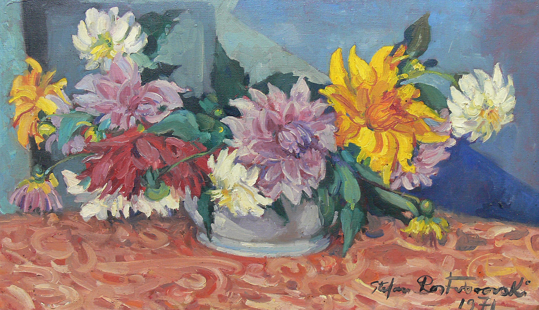 Martwa natura z kwiatami, 1971 r.