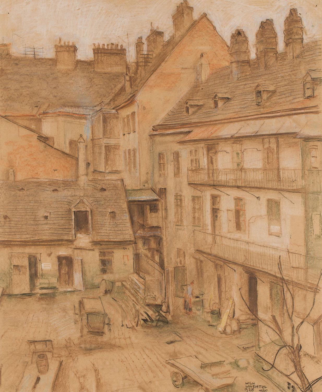Pejzaż miejski, 1928