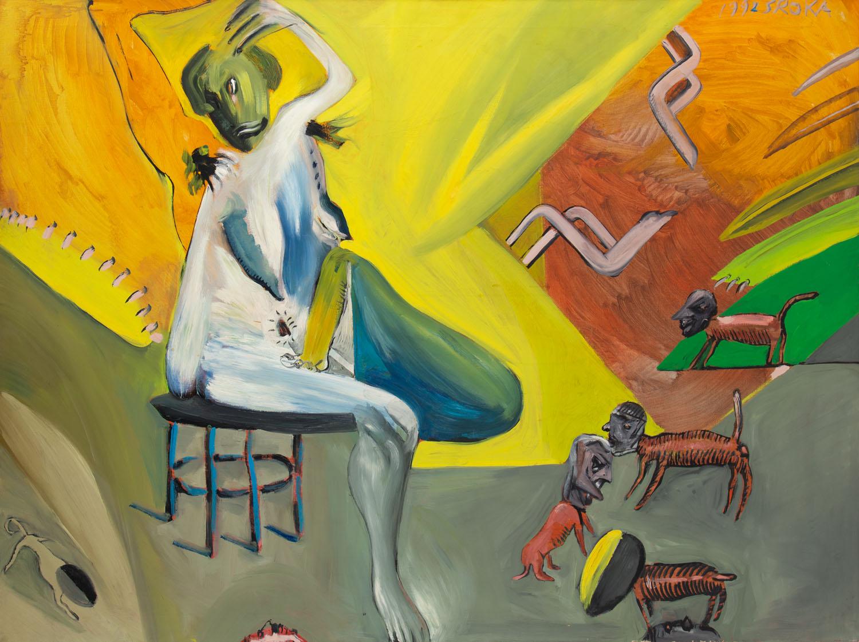 """Obraz o siedmiu mężach"", 1992"