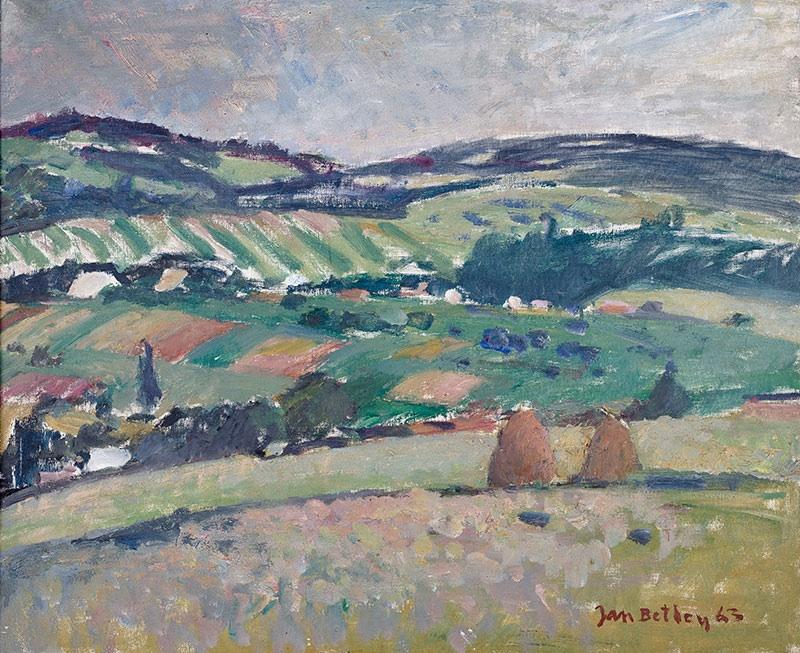 Zielone wzgórza, 1963 r.