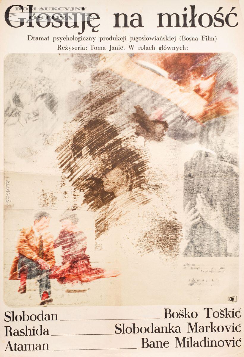 Plakat do filmu GŁOSUJĘ NA MIŁOŚĆ, 1965