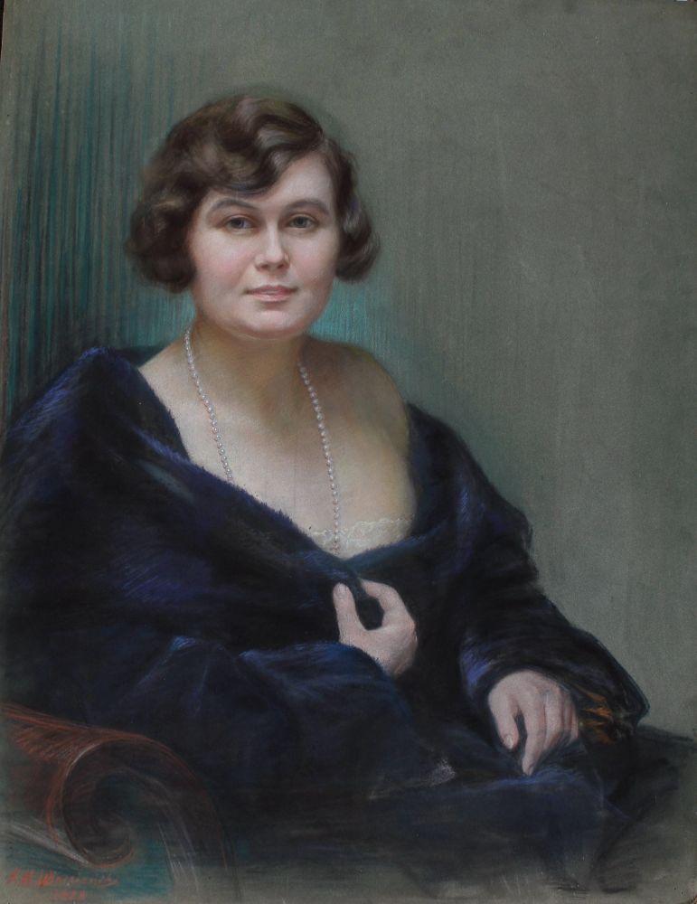Portret hrabiny Alicji Litow (1928)