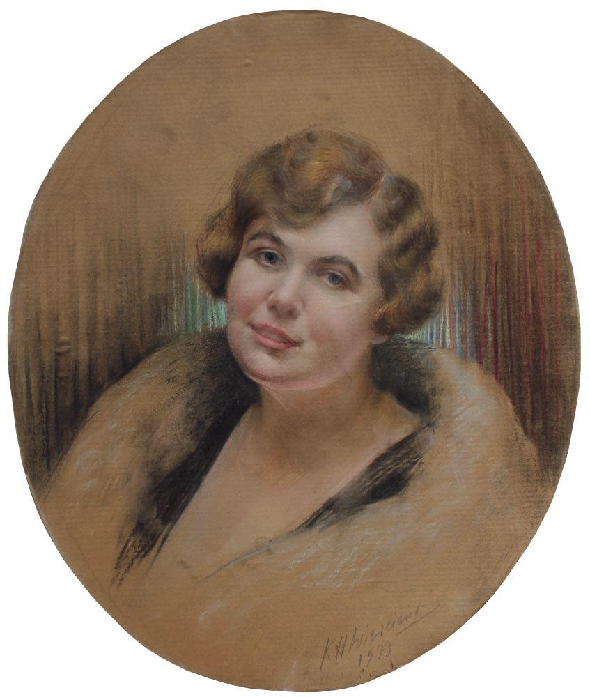 Portret hrabiny Alicji Litow (1933)