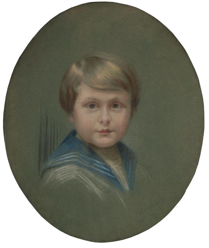Portret chłopca Grzegorza Litow (1929)