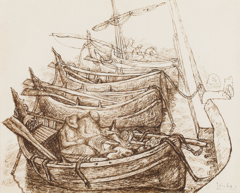 """Barki rybackie"", 1937"