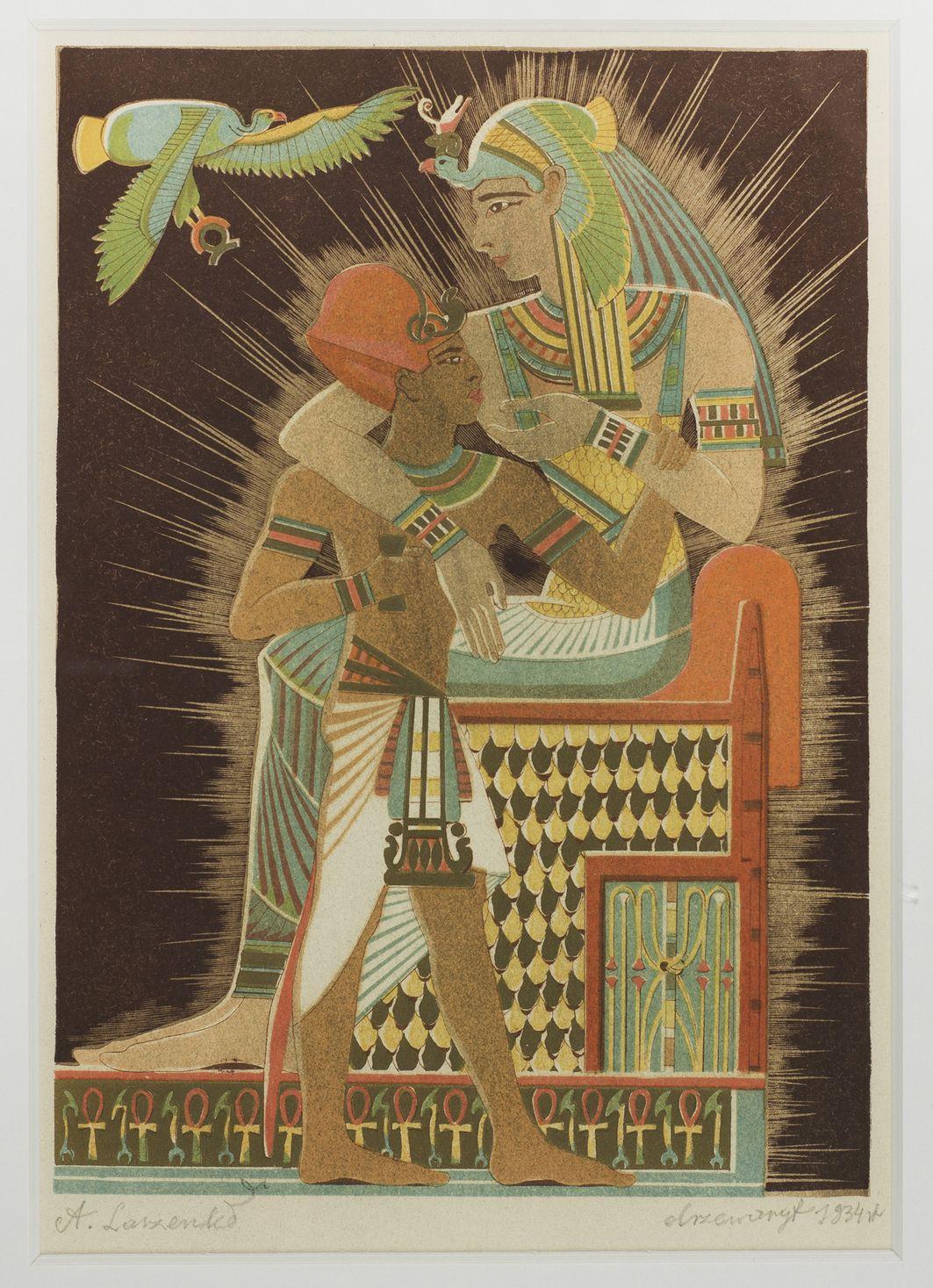 Izyda i Horus