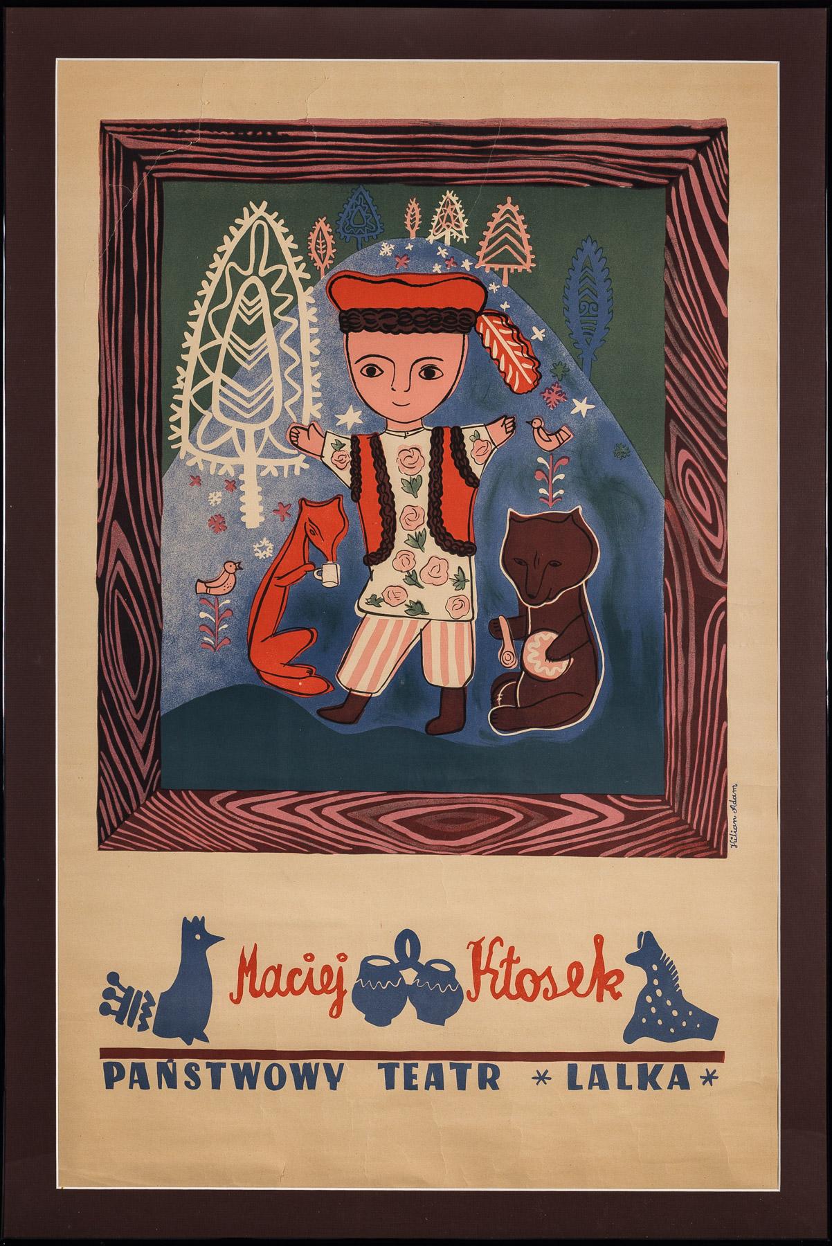 Maciej Kłosek. Państwowy Teatr Lalka, 1951