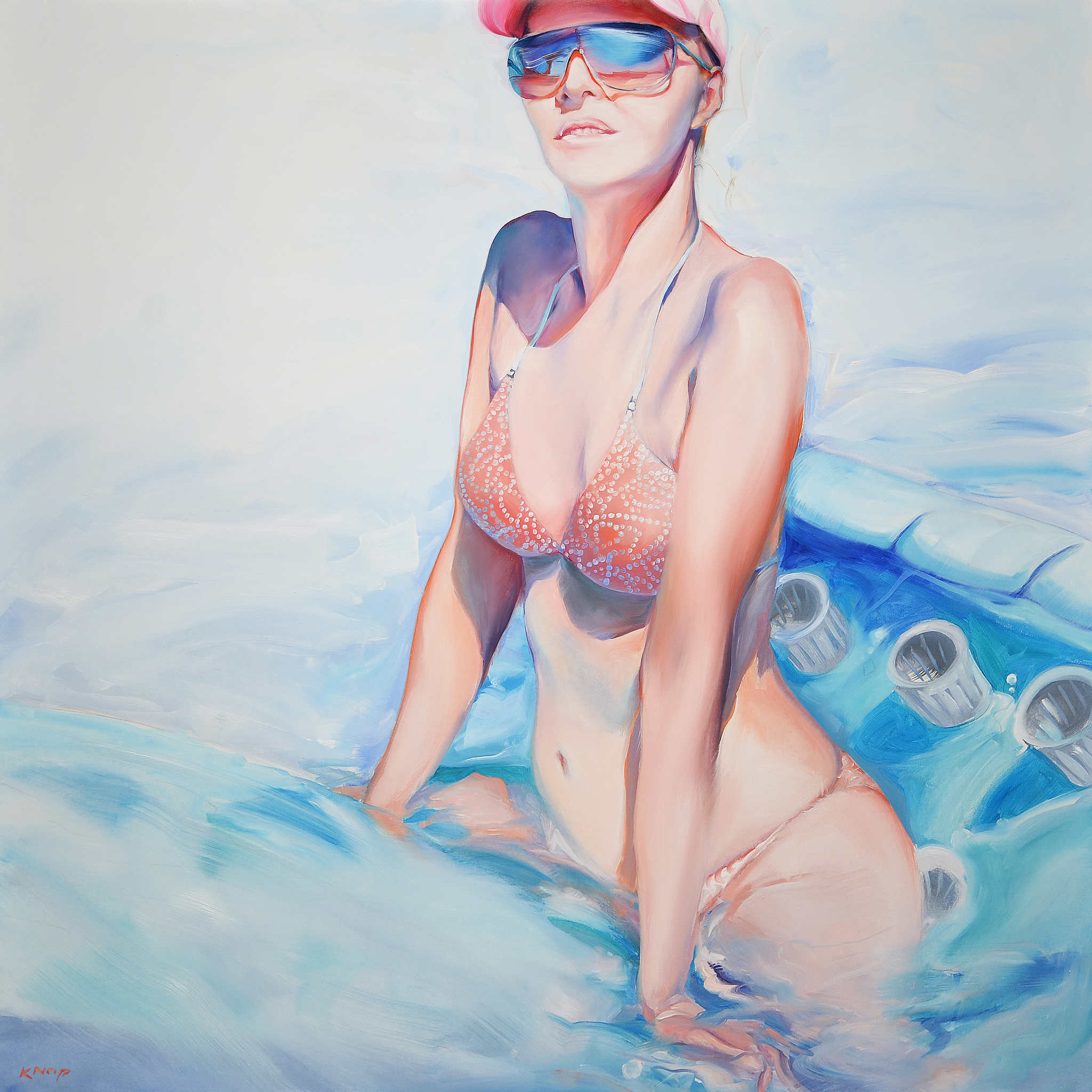 Madame Ev-18 z serii Swimming Pool, 2020