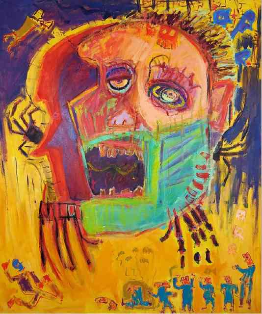 Żółta głowa i orkiestra, 2020