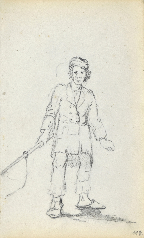 Chłopak z wędzidłem, 1872 r.