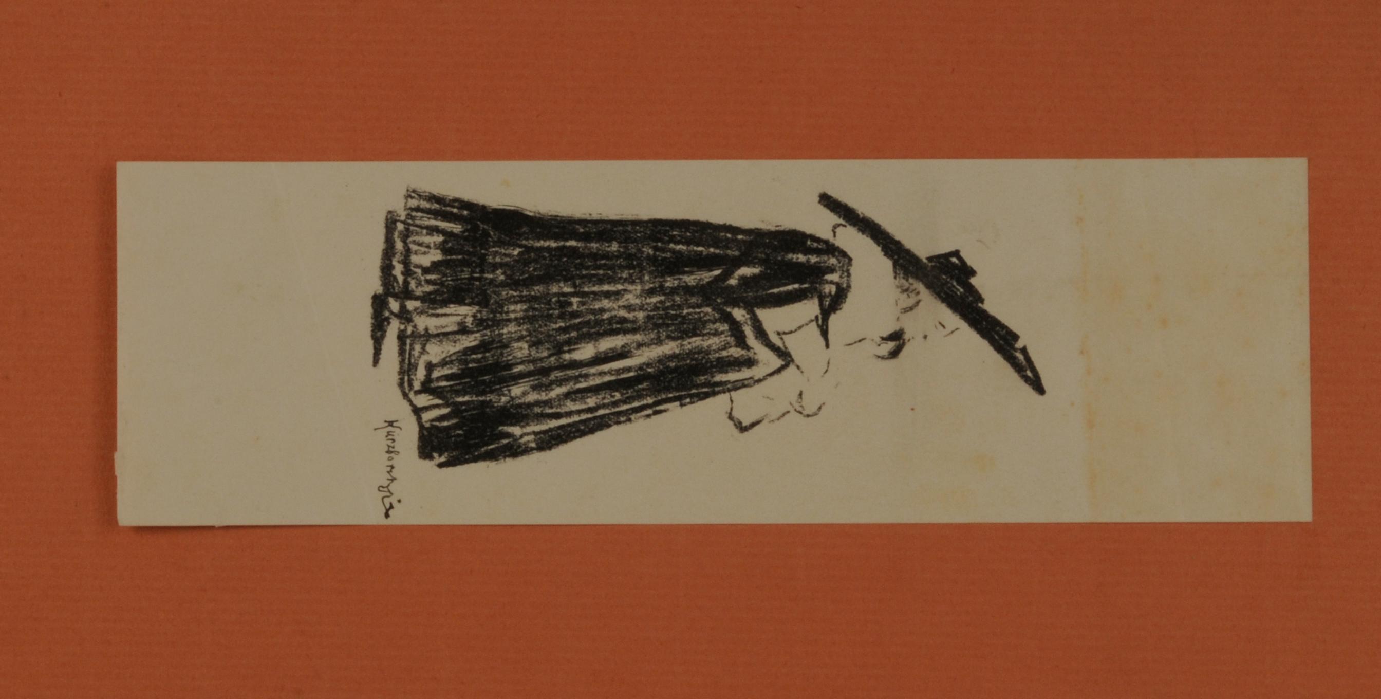 """Marian Jednowski jako Don Basilio w sztuce Beaumarchais """"Wesele Figara"""", 1904"""