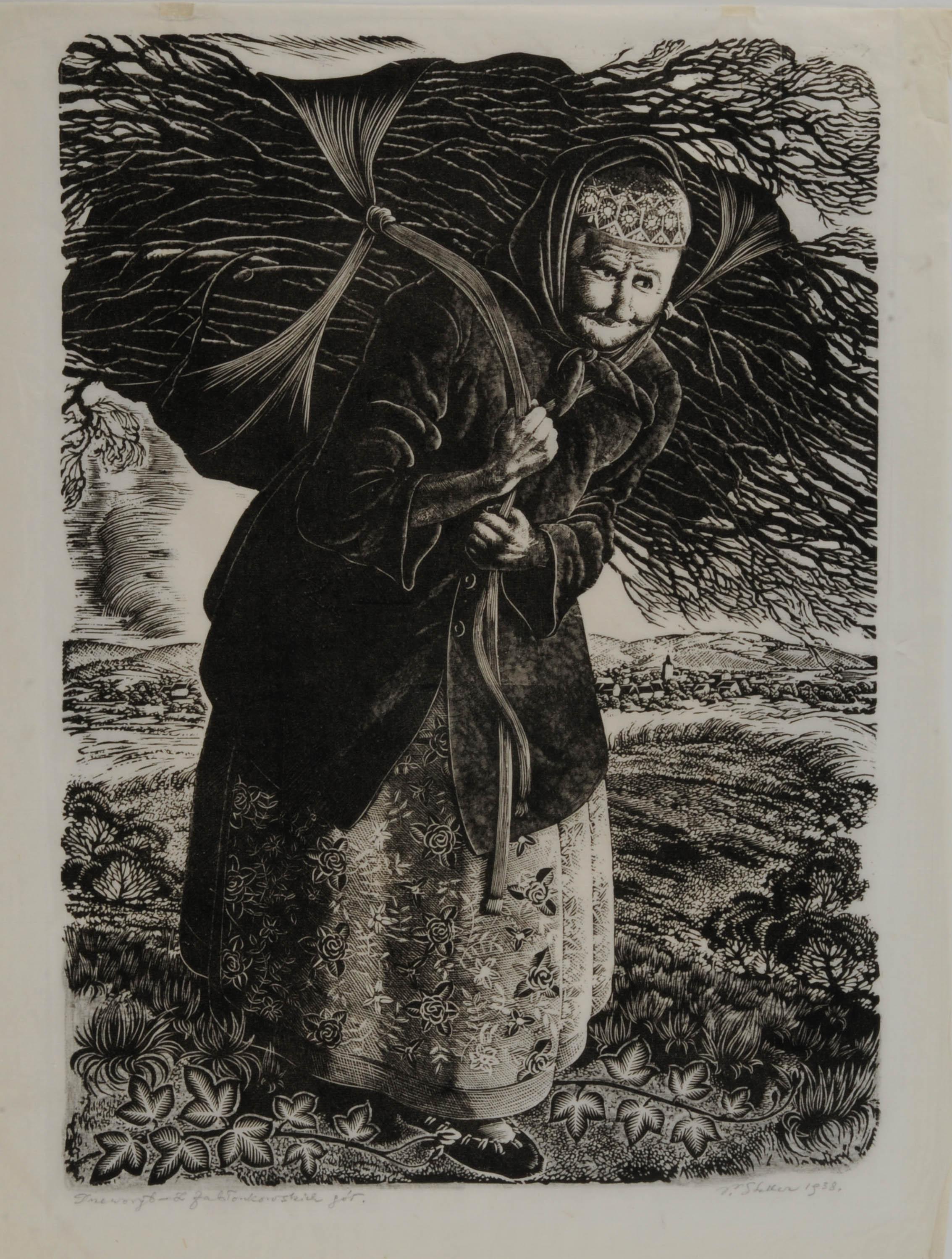 Z jabłonkowskich gór, 1938